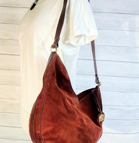 e628683d18 Bottega Veneta Handbags - Vintage Bottega Veneta suede hobo XL